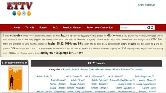 ETTV Proxy List Working & the Best ETTV Torrent Alternatives