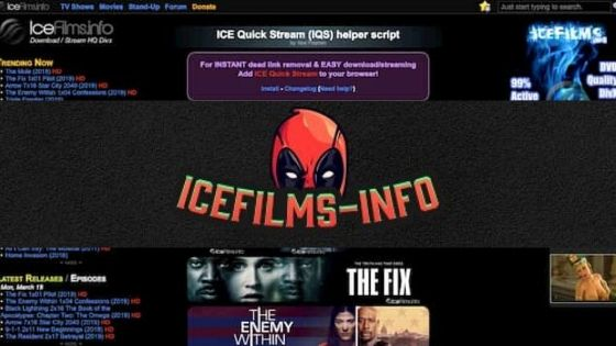 IceFilms Proxy Working & their Best IceFilms Alternatives